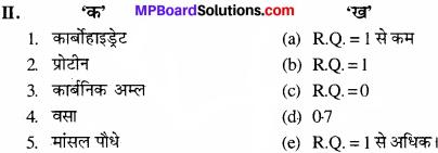 MP Board Class 11th Biology Solutions Chapter 14 पादप में श्वसन - 9
