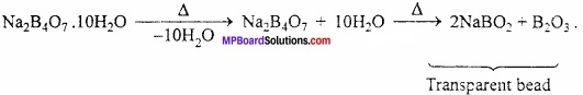 MP Board Class 11th Chemistry Important Questions Chapter 11 p - Block Elements img 12