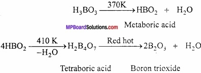 MP Board Class 11th Chemistry Important Questions Chapter 11 p - Block Elements img 9