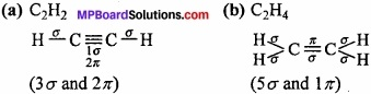 MP Board Class 11th Chemistry Important Questions Chapter 4 Chemical Bonding and Molecular Structure img 2