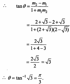 MP Board Class 11th Maths Important Questions Chapter 10 Straight Lines 7