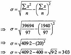 MP Board Class 11th Maths Important Questions Chapter 15 Statistics 34