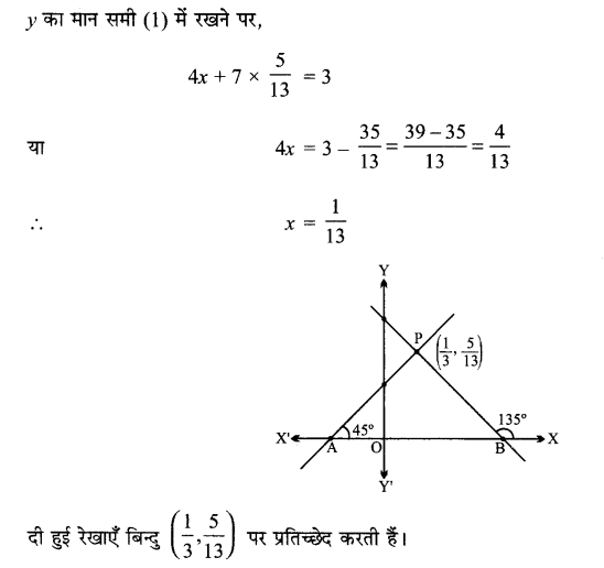 MP Board Class 11th Maths Solutions Chapter 10 सरल रेखाएँ विविध प्रश्नावली img-10