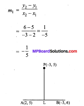 MP Board Class 11th Maths Solutions Chapter 10 सरल रेखाएँ Ex 10.2 img-5