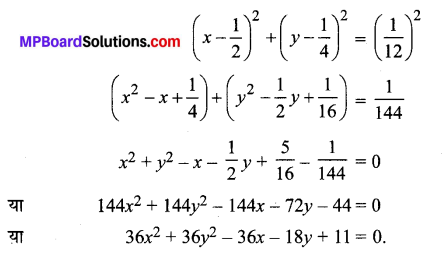 MP Board Class 11th Maths Solutions Chapter 11 शंकु परिच्छेद Ex 11.1 img-1