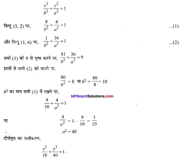 MP Board Class 11th Maths Solutions Chapter 11 शंकु परिच्छेद Ex 11.3 img-10