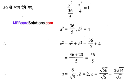 MP Board Class 11th Maths Solutions Chapter 11 शंकु परिच्छेद Ex 11.4 img-4
