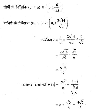 MP Board Class 11th Maths Solutions Chapter 11 शंकु परिच्छेद Ex 11.4 img-5