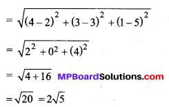 MP Board Class 11th Maths Solutions Chapter 12 त्रिविमीय ज्यामिति का परिचय Ex 12.2 img-1