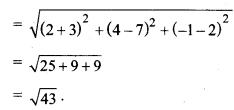 MP Board Class 11th Maths Solutions Chapter 12 त्रिविमीय ज्यामिति का परिचय Ex 12.2 img-2