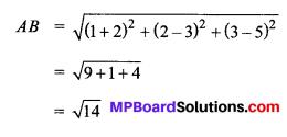 MP Board Class 11th Maths Solutions Chapter 12 त्रिविमीय ज्यामिति का परिचय Ex 12.2 img-5