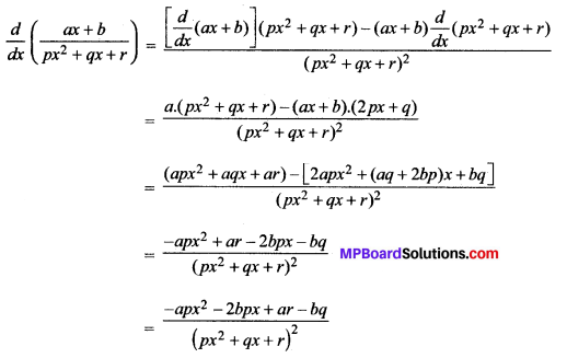 MP Board Class 11th Maths Solutions Chapter 13 सीमा और अवकलज विविध प्रश्नावली img-12