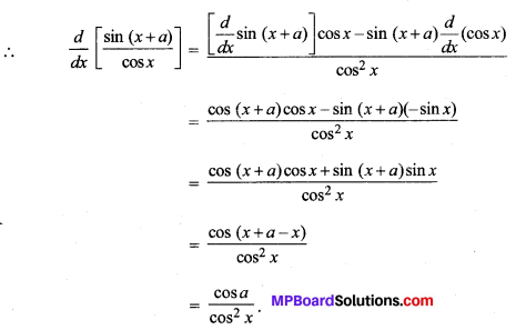MP Board Class 11th Maths Solutions Chapter 13 सीमा और अवकलज विविध प्रश्नावली img-23