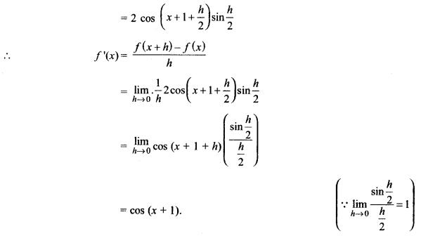 MP Board Class 11th Maths Solutions Chapter 13 सीमा और अवकलज विविध प्रश्नावली img-3