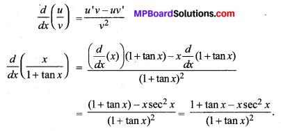 MP Board Class 11th Maths Solutions Chapter 13 सीमा और अवकलज विविध प्रश्नावली img-31