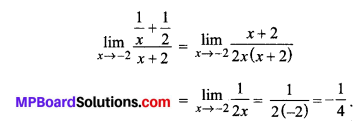 MP Board Class 11th Maths Solutions Chapter 13 सीमा और अवकलज Ex 13.1 img-23