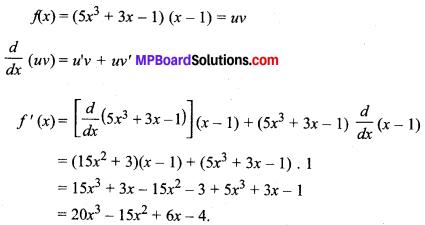 MP Board Class 11th Maths Solutions Chapter 13 सीमा और अवकलज Ex 13.2 img-12