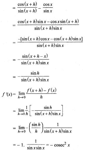 MP Board Class 11th Maths Solutions Chapter 13 सीमा और अवकलज Ex 13.2 img-19