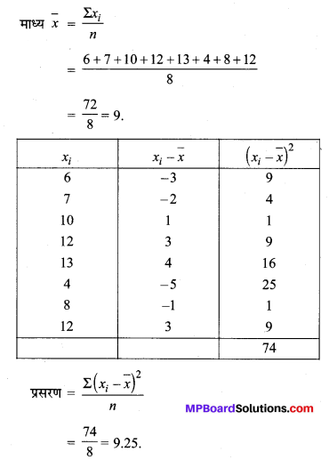 MP Board Class 11th Maths Solutions Chapter 15 सांख्यिकी Ex 15.2 img-1