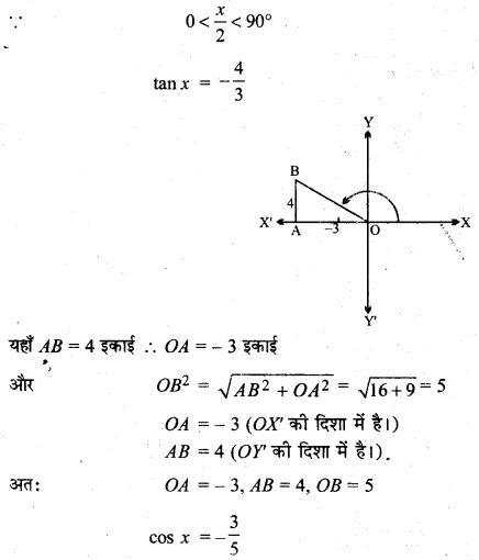 MP Board Class 11th Maths Solutions Chapter 3 त्रिकोणमितीय फलन विविध प्रश्नावली img-9