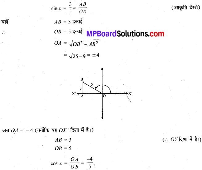 MP Board Class 11th Maths Solutions Chapter 3 त्रिकोणमितीय फलन Ex 3.2 img-3