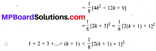 MP Board Class 11th Maths Solutions Chapter 4 गणितीय आगमन का सिद्धांत Ex 4.1 img-39