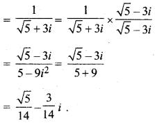MP Board Class 11th Maths Solutions Chapter 5 सम्मिश्र संख्याएँ और द्विघातीय समीकरण Ex 5.1 img-8