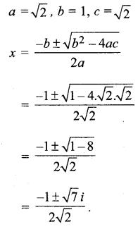 MP Board Class 11th Maths Solutions Chapter 5 सम्मिश्र संख्याएँ और द्विघातीय समीकरण Ex 5.3 img-10