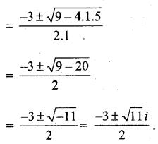 MP Board Class 11th Maths Solutions Chapter 5 सम्मिश्र संख्याएँ और द्विघातीय समीकरण Ex 5.3 img-5