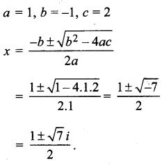 MP Board Class 11th Maths Solutions Chapter 5 सम्मिश्र संख्याएँ और द्विघातीय समीकरण Ex 5.3 img-6