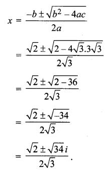 MP Board Class 11th Maths Solutions Chapter 5 सम्मिश्र संख्याएँ और द्विघातीय समीकरण Ex 5.3 img-8