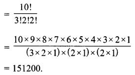 MP Board Class 11th Maths Solutions Chapter 7 क्रमचय और संचयं विविध प्रश्नावली img-5