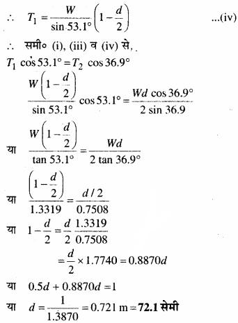 MP Board Class 11th Physics Solutions Chapter 7 कणों के निकाय तथा घूर्णी गति image 11