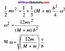 MP Board Class 11th Physics Solutions Chapter 7 कणों के निकाय तथा घूर्णी गति image 29