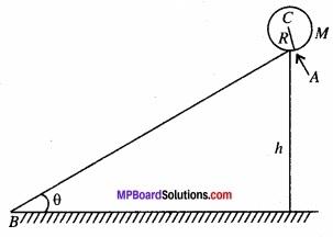 MP Board Class 11th Physics Solutions Chapter 7 कणों के निकाय तथा घूर्णी गति image 33
