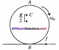 MP Board Class 11th Physics Solutions Chapter 7 कणों के निकाय तथा घूर्णी गति image 36