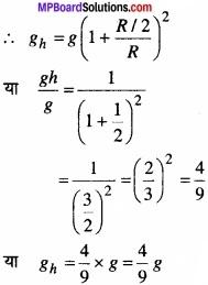 MP Board Class 11th Physics Solutions Chapter 8 गुरुत्वाकर्षण img 10