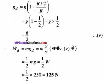 MP Board Class 11th Physics Solutions Chapter 8 गुरुत्वाकर्षण img 11