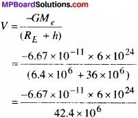 MP Board Class 11th Physics Solutions Chapter 8 गुरुत्वाकर्षण img 23