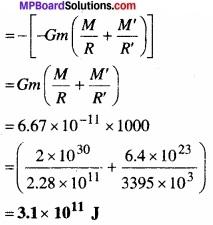 MP Board Class 11th Physics Solutions Chapter 8 गुरुत्वाकर्षण img 28