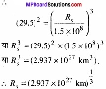 MP Board Class 11th Physics Solutions Chapter 8 गुरुत्वाकर्षण img 9