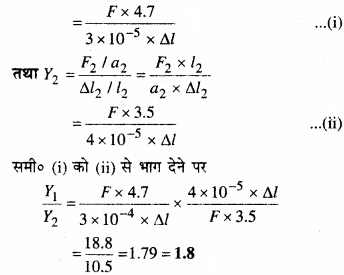 MP Board Class 11th Physics Solutions Chapter 9 ठोसों के यांत्रिक गुण img 2