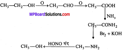 MP Board Class 12th Chemistry Solutions Chapter 11 ऐल्कोहॉल, फीनॉल तथा ईथर - 126