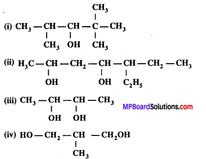 MP Board Class 12th Chemistry Solutions Chapter 11 ऐल्कोहॉल, फीनॉल तथा ईथर - 22