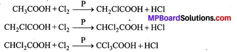 MP Board Class 12th Chemistry Solutions Chapter 12 ऐल्डिहाइड्स, कीटोन्स तथा कार्बोक्सिलिक अम्ल - 107