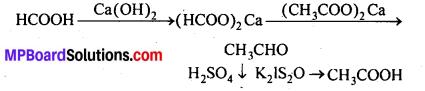 MP Board Class 12th Chemistry Solutions Chapter 12 ऐल्डिहाइड्स, कीटोन्स तथा कार्बोक्सिलिक अम्ल - 128
