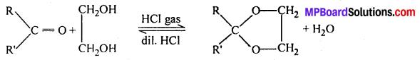 MP Board Class 12th Chemistry Solutions Chapter 12 ऐल्डिहाइड्स, कीटोन्स तथा कार्बोक्सिलिक अम्ल - 22