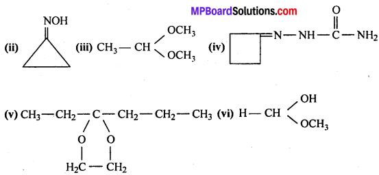 MP Board Class 12th Chemistry Solutions Chapter 12 ऐल्डिहाइड्स, कीटोन्स तथा कार्बोक्सिलिक अम्ल - 32