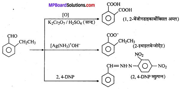 MP Board Class 12th Chemistry Solutions Chapter 12 ऐल्डिहाइड्स, कीटोन्स तथा कार्बोक्सिलिक अम्ल - 40
