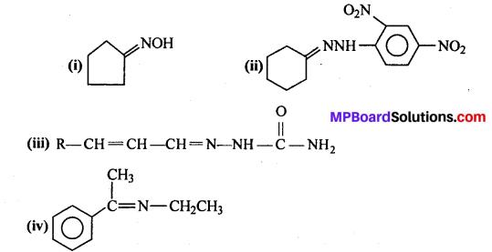 MP Board Class 12th Chemistry Solutions Chapter 12 ऐल्डिहाइड्स, कीटोन्स तथा कार्बोक्सिलिक अम्ल - 7